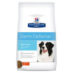 Hill`s Canine P-D DERM DEFENSE сух. 2 кг Диета для собак при дерматитах или избыточной потери шерсти 1х6 НОВИНКА 10562