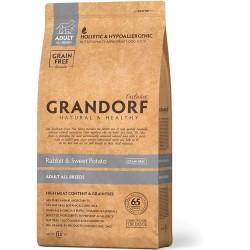 Грандорф Ягненок и Рис для щенков всех пород 1 kg