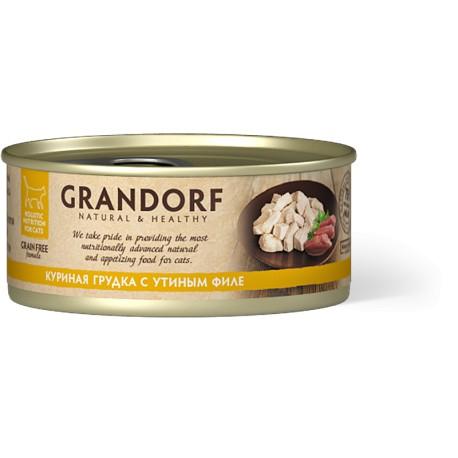 Грандорф Куриная грудка с утиным филе