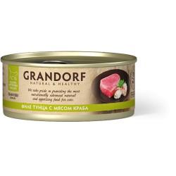 Грандорф Филе тунца с мясом краба