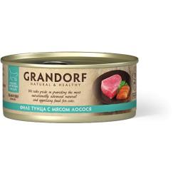 Грандорф Филе тунца с лососем
