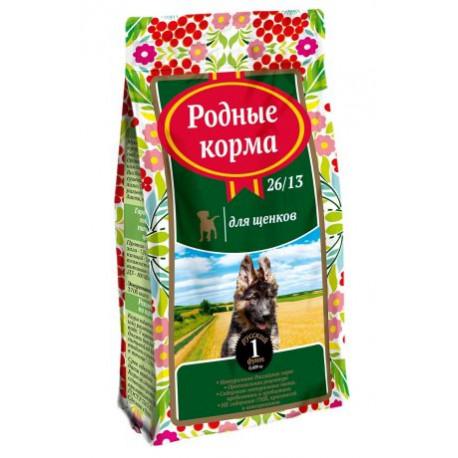 Родные корма для щенков 16,38 кг