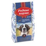 Родные корма для взрослых собак крупных пород 16,38 кг